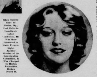 Marie Pergain photo, Detroit Free Press, April 4, 1937