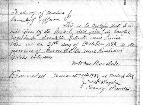 Franklin Gillette-Louisa Rice marriage certificate.jpg