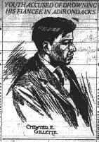 Chester Gillette under arrest - The World (NY) 7-18-1906