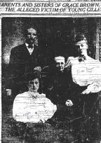 Grace Brown's family - The World (NY) 11-16-1906