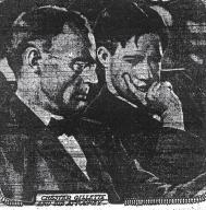 Chester Gillette with defense attorney Charles D. Thomas - The World (NY) 11-22-1906