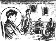 DA Ward questions a witness as Gillette looks on - The World (NY) 11-15-1906
