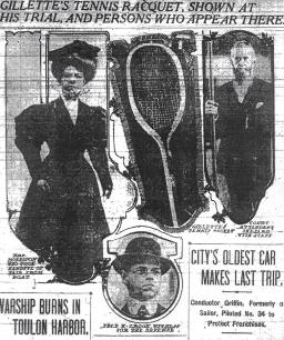 the tennis racket and trial witnesses - The World (NY) 11-26-1906