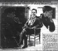 Gillette on witness stand - The World (NY) 11-29-1906