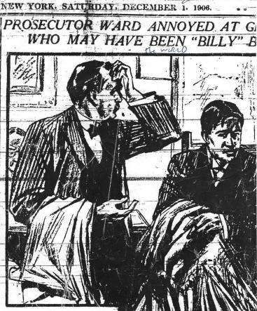 an exasperated District Attorney Ward grills Gillette - The World (NY) 12-2-1906