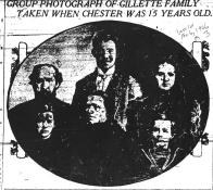 Chester Gillette's family ca. 1898 - The World (NY) 12-6-1906