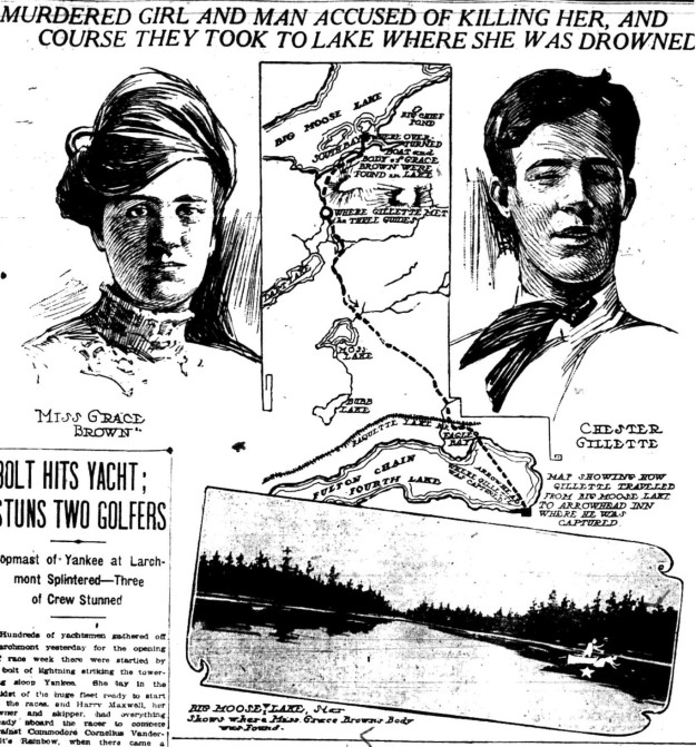 Gillette-Brown illustration - NY World 7-22-1906 pg. 1W
