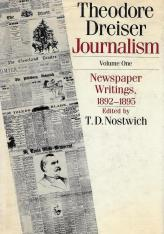 Journalism, Volume One: Newspaper Writings, 1892-1895