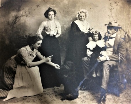 ancestors of Dreiser's 2nd wife Helen (Patges) (Richardson) Dreiser; courtesy Joann Crouch