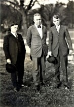 Terre Haute poet Max Ehrmann (1872-1945), Dreiser, and Robert Heinl; courtesy Rare Book and Manuscript Library, University of Pennsylvania