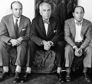 John Dos Passos, Dreiser. and Samuel Ornitz during investigations of mine workers' conditions in Harlan County, Kentucky