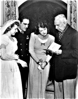 Helen and Theodore Dreiser at wedding of Lt. George B. Smith and Dorothy Tucker, Glendale, CA 12-21-1945