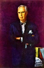 portrait of Dreiser by Wayman Adams