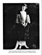 Helen Richardson in Hollywood; from the collection of Harold J. Dies, courtesy Joann Crouch
