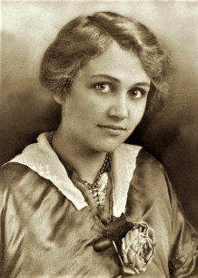 Dreiser's niece Gertrude Amelia Hopkins (1894-1973); courtesy Gloria N. Vevante