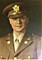 Harold J. Dies, Helen Dreiser's cousin, in Army uniform; from the private collection of Harold J. Dies, courtesy Joann Crouch