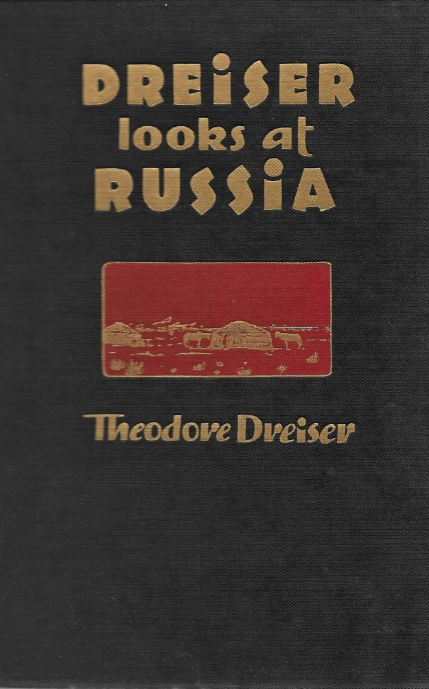 'Dreiser Looks at Russia' - cover
