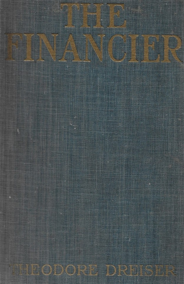 'The Financier' (Harper & Brothers 1912) - cover