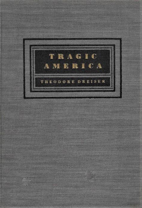 'Tragic America' - cover